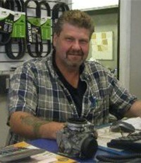 Service Manager Ron Wilde